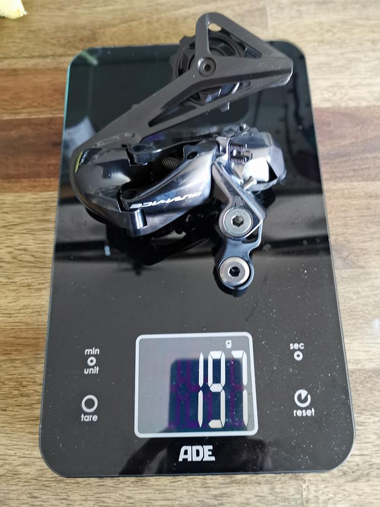 Shimano Dura Ace Di2 RD-R9150 Schaltwerk 2x11-fach - 197 Gramm