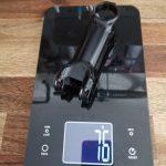 EXTRALITE Vorbau HyperStem Stealth Black on Black MTB/Road 31,8 mm | +/- 6° 120 mm
